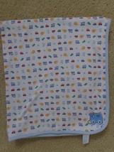 Carter's Child Of Mine Baby Blanket Blue Revers... - $22.97
