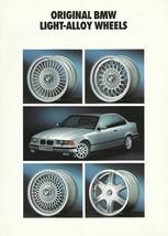 1992/1993 BMW Accessory Alloy Wheels brochure catalog 92 93 US - $9.00