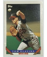 1993 Topps #280 Tom Glavine Atlanta Braves Baseball Card - $2.93