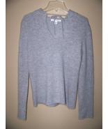 Banana REPUBLIC Gray Sweater Rabbit Hair Marino Wool Blend Hooded XS - $29.35