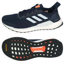 Adidas Men's Solar Boost 19 Running Shoes Athletic Training Navy/White G... - £114.00 GBP