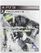 Tom Clancy's Splinter Cell Blacklist (PS3 2013) Usually ships within 12 ... - $15.74
