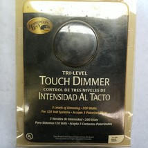 Hampton Bay Tri-Level Touch Dimmer 3 Level of Dimming 200 Watts Black 36... - $19.63