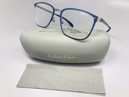 New Authentic Calvin Klein CK5426 412 Blue & Grey Eyeglasses 52mm  with Case - $59.35