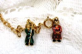 Joan Rivers Noah's Ark Noah Mrs Wife Charm Extender Set Pair Couple Chai... - $60.00
