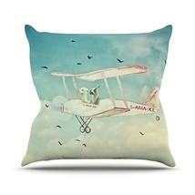 "Kess InHouse Monika Strigel ""Never Stop Exploring II"" Outdoor Throw Pill... - $742,50 MXN"