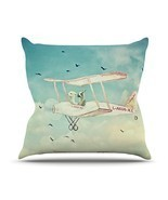 "Kess InHouse Monika Strigel ""Never Stop Exploring II"" Outdoor Throw Pill... - €31,69 EUR"