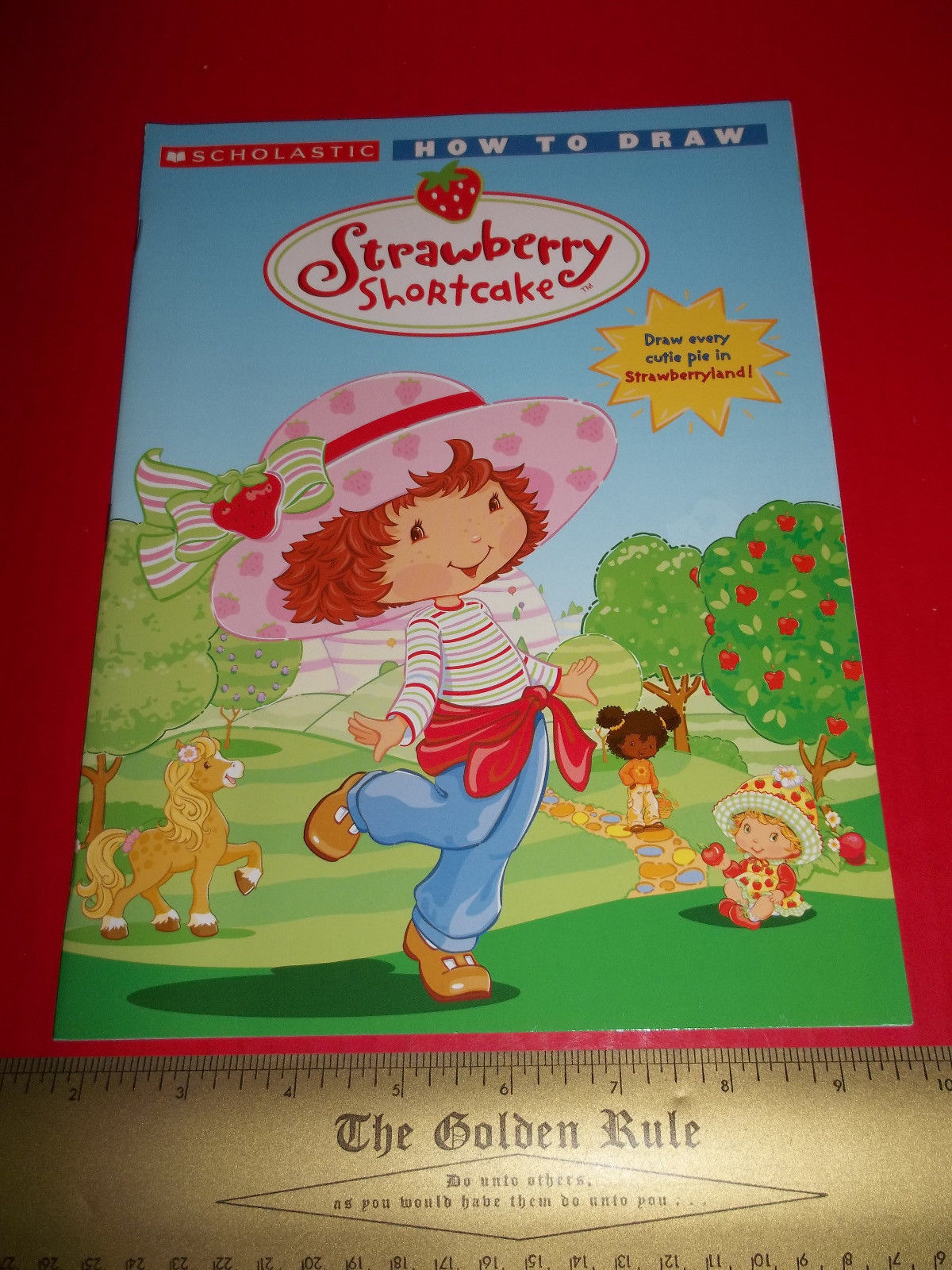 Strawberry Shortcake Craft Book Art Scholastic How To Draw Strawberryland Cuties