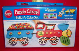 Wilton Food Craft Bake Multi Vehicle Puzzle Build Tool Snack Treats Cake... - $23.74