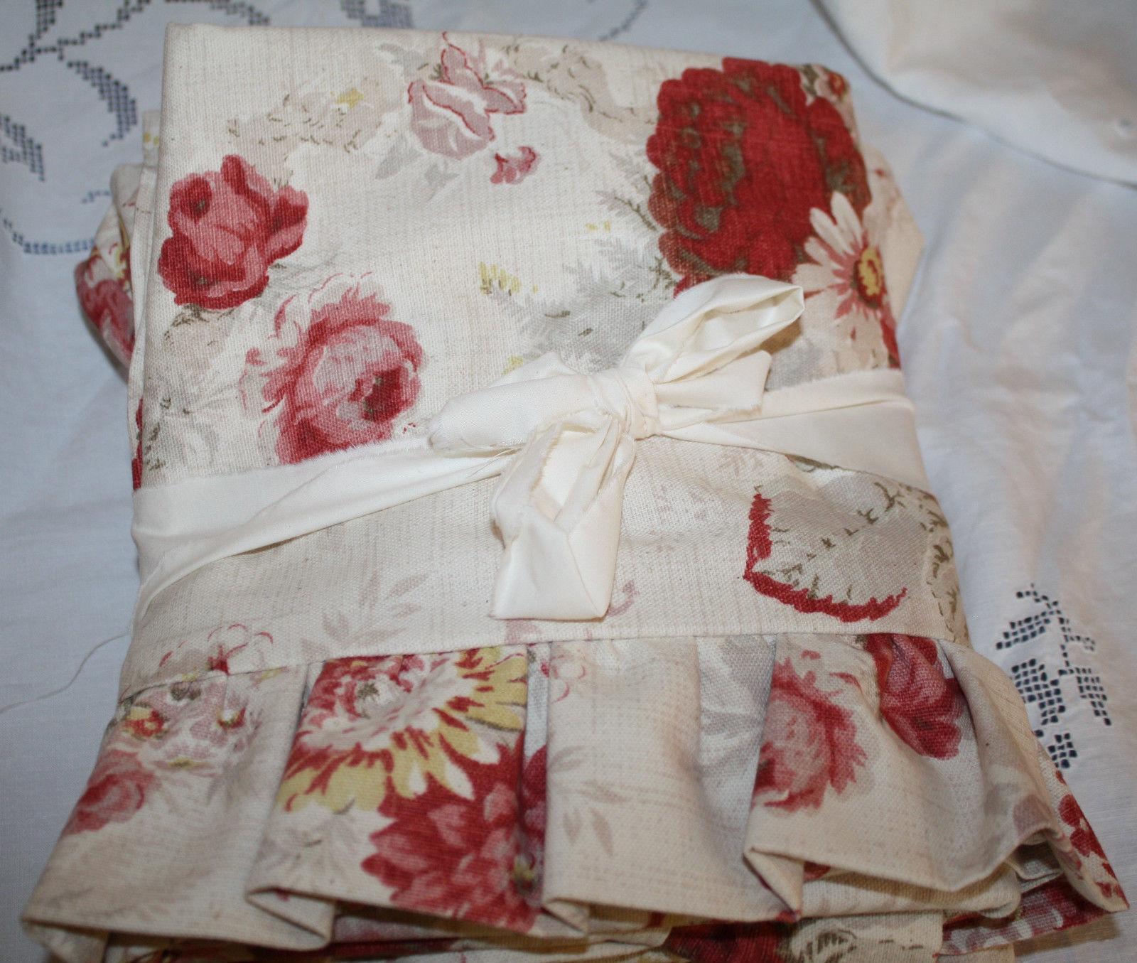 Waverly Norfolk Rose Cottage Bedding Custom Pillow Sham