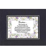 [Motivational Sayings] - Excellence. . . By Vincent J. Lombardi . . . 8 ... - $9.85