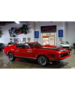 1971 Ford Mustang Mach 1 24X36 inch poster, sports car, muscle car - $18.99