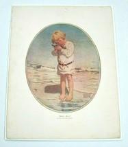 Antique 1914 Collier's Litho Art Print Billy Boy by Jessie Willcox Smith... - $49.99