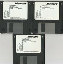 "Microsoft Windows NT Workstation ~  3.5"" Setup Disks ~ Lot of 3 - $26.74"