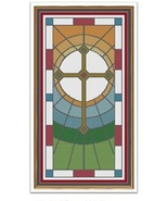 The Cross cross stitch chart Cross Stitch Cards - $9.00