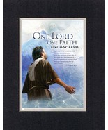 One Lord, One Faith, One Baptism - 1 Peter 3:21. . . 8 x 10 Inches Bibli... - $9.85