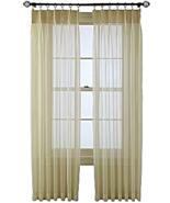 "Pair Martha Window Sheer Pinch Pleat Curtain Panels 50""W (pair)x84""L #68... - $16.49"