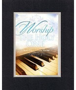 Worship the Holy One - Psalm 92:1. . . 8 x 10 Inches Biblical/Religious ... - $9.85