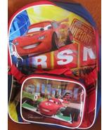 Disney Lightning McQueen Cars Backpack with Detachable Lunch Kit Road to... - $18.99