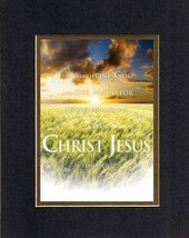 One God, One Mediator, between God and Man, a Man Christ Jesus - Timothy 2:5.... - $9.85