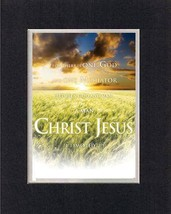 One God, One Mediator, between God and Man, a Man Christ Jesus - Timothy 2:5 ... - $9.85
