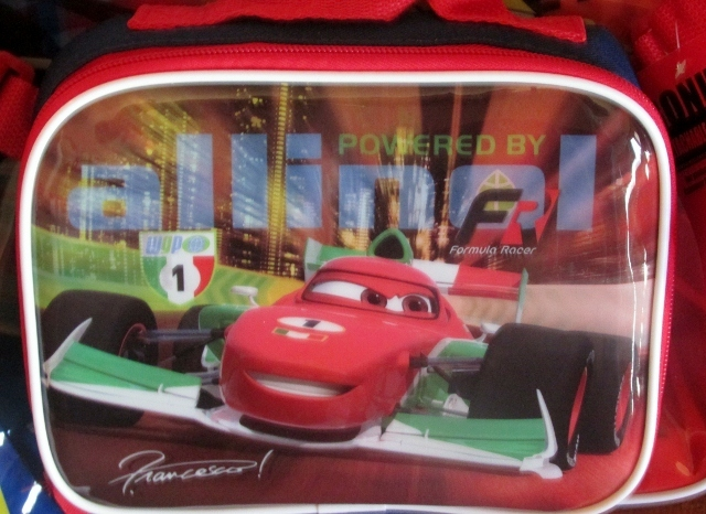Disney Lightning McQueen Cars Backpack with Detachable Lunch Kit Road to Victory