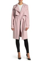 NWT Michael Kors - Blush (Pink) Belted Trench Coat, Size: L - $279.40