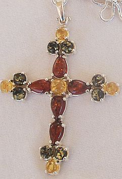 Primary image for Amber Cross 2.2inch