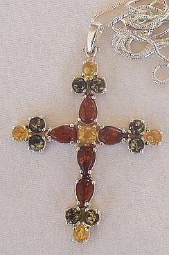 Amber Cross 2.2inch