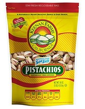 Keenan Farms Roasted Pistachios Salted, 1 lb