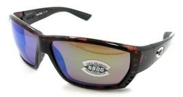Costa Del Mar Sunglasses Tuna Alley 62-11-125 Tortoise / Green Mirror 58... - $245.00