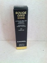 Chanel Rouge Coco Shine Lipstick #57 Aventure 0.1oz/3g BRAND NEW IN BOX - $59.39