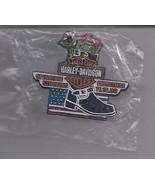 HARLEY DAVIDSON OPERATION STOCKING-CHRISTMAS 11.15.08  Pin - $9.95