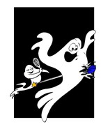 Ghost spca010j-Digital Download-ClipArt-ArtClip-Digital Art - $4.00