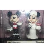 Bride & Groom Mickey & Minnie  Disney Salt and Pepper - $49.49