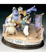 Disney  Aladdin Group Hug  Capodimonte Laurenz  C.O.A. Original Box - $1,921.00