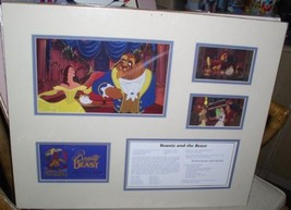 Disney Beauty and the Beast cast member Lithograph - $99.99