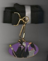 Disney Maleficent Diablo raven Auction Lanyard - $51.99