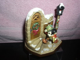 "Disney Mickey Mouse 4""  Anri Mint made in Italy Toriart - $96.74"