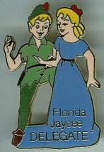 Disney Peter Pan & Wendy Florida Jaycees Delegate 1986  full body pin/pins - $99.99