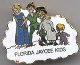 Disney Peter Pan Wendy Michael, Wendy, John Florida full body Jaycees  p... - $99.99