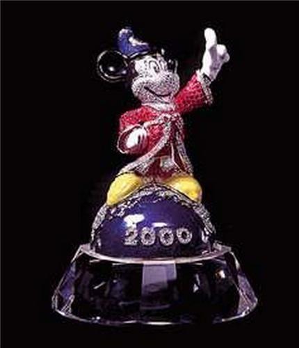 Disney Swarovski Crystal Mickey Sorcerer Aribus Brother
