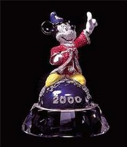 Disney Swarovski Crystal Mickey Sorcerer Aribus Brother - $1,500.00