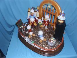 Disney Uncle Scrooge Capodimonte Figurine C.O.A. Original Box Reconditoned - $2,260.00