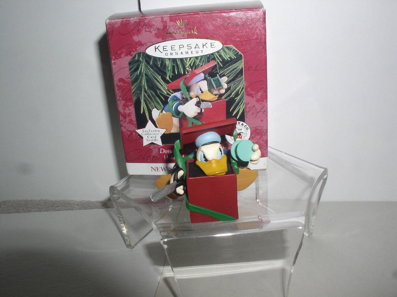Donald Duck spool and thread ornament present by Katrina Bricker 1997