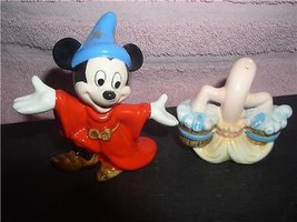 Fantisia Sorcerer Mickey Mouse Vintage - Disney Salt & Pepper - $59.99
