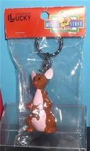 Kanga and Roo from Winnie the Pooh  Disney Figurine  key chain made of PVC Mint - $19.33