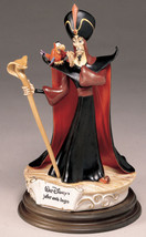 Jafar and Iago from Aladdin Villain Disney Capodimonte Laurenz COA.Origi... - $634.69
