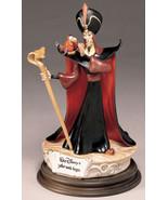 Jafar and Iago from Aladdin Villain Disney Capodimonte Laurenz COA.Origi... - $634.69