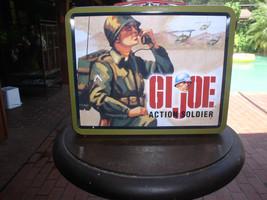 GI Joe Action Soldier Hasbro 1997  metal lunch box Lunchbox - $29.99